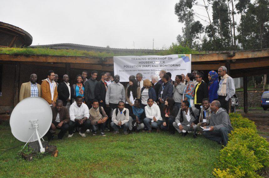 HoA-REC&N Hosts Household Air Pollution Monitoring Workshop