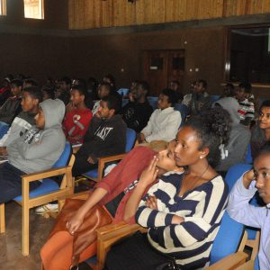Students Discuss Climate Change and Sustainability in Ethiopia