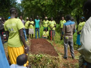 Training on compost making for organic soil fertility in Gambella Ecohub