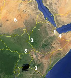 Horn of Africa Countries