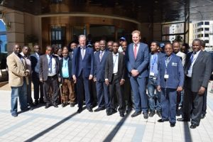 Participants of the training on Law Enforcement Actors, Addis Ababa