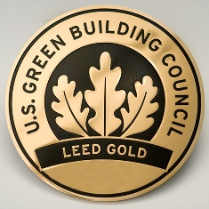 HoA-REC&N Awarded Prestigious LEED®Gold Green Building Certification