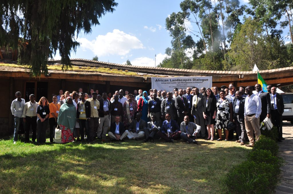 African Landscape Dialogue participants at HoA-REC&N's headquarters