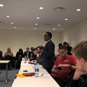 YNCCC discusses Youth Engagement in Climate Change on UN ECOSOC Forum