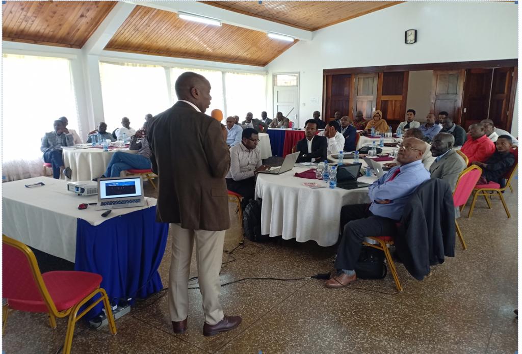 HoA-ESR Nairobi baseline assessment regional validation workshop, Feb 2020