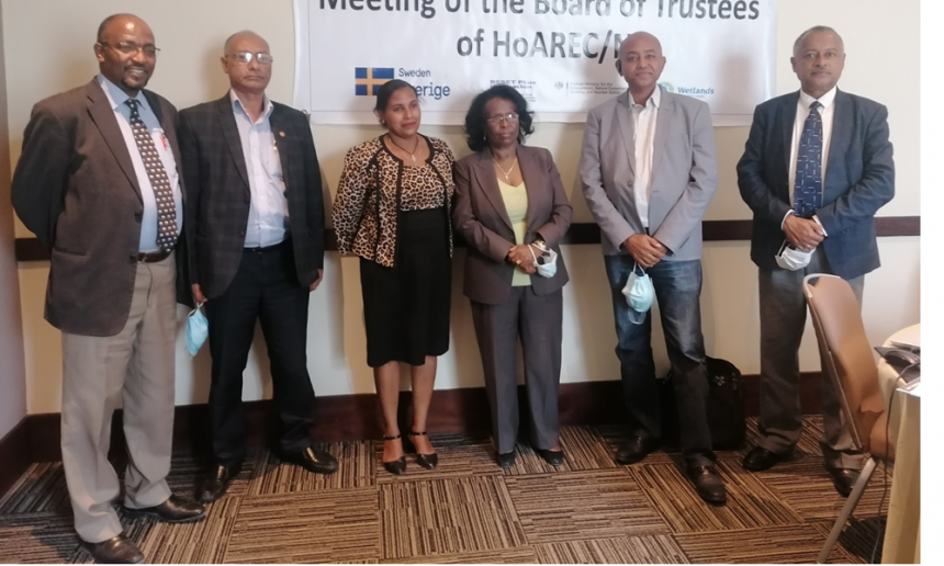 HoA-REC board of trustees held its first meeting of 2021